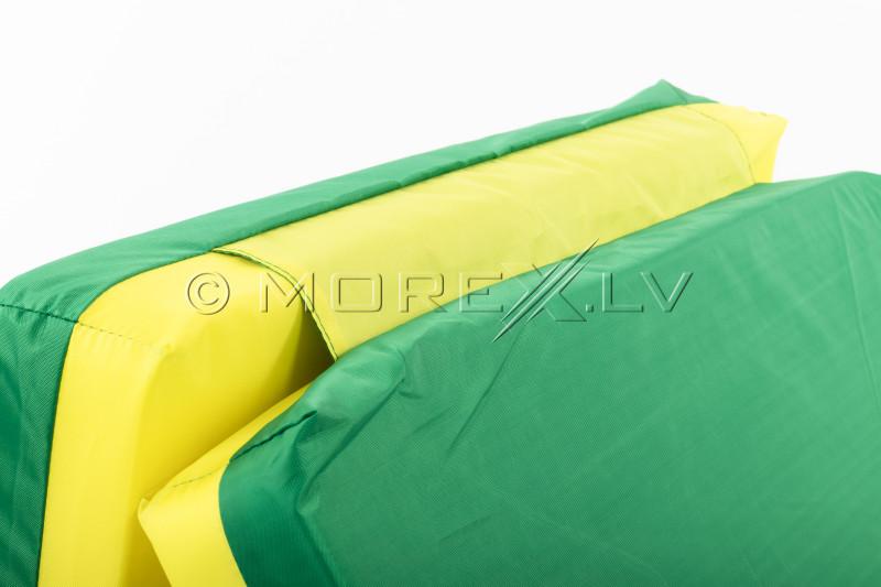 Safety mat 66x120 cm green-yellow