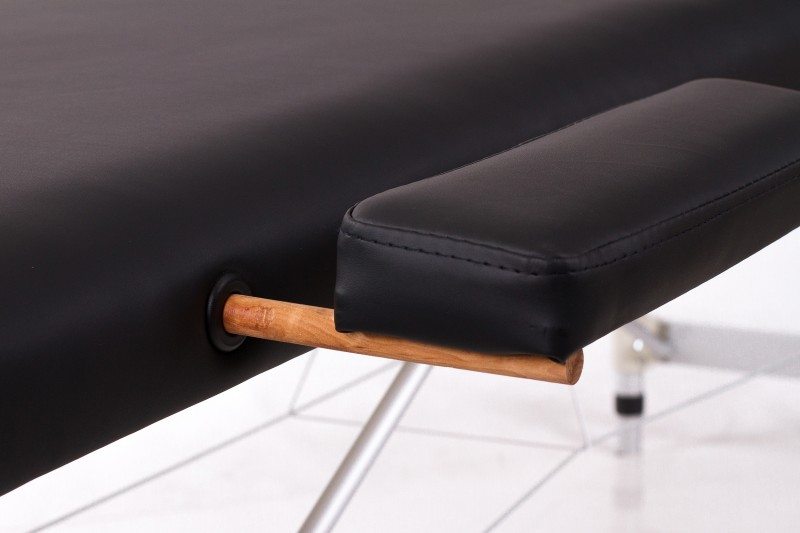 RESTPRO® ALU 2 (M) Black massaažilaual (diivan)