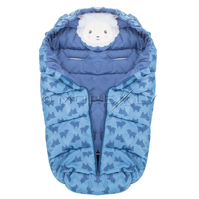 Laste magamiskott jalutuskäikude jaoks SB006 taevasinine