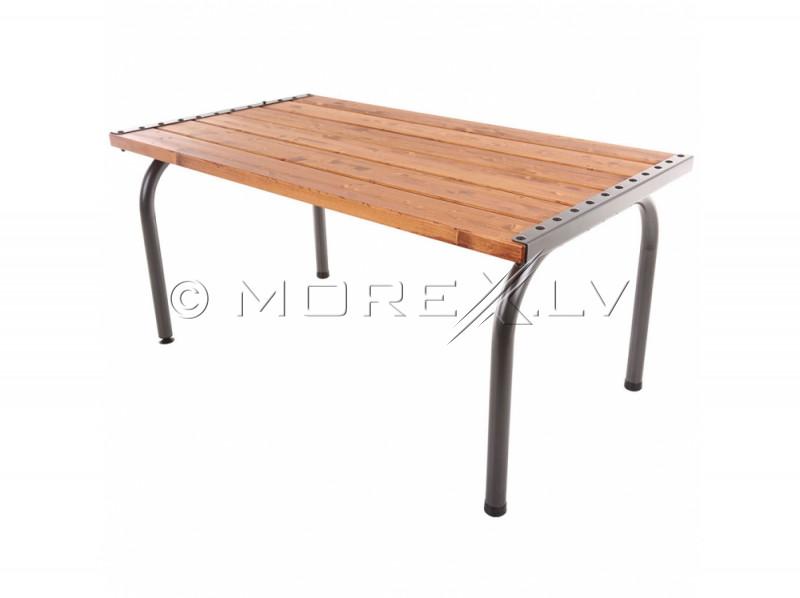 Aialaud puidust lauaplaadiga, 151x86x73 cm