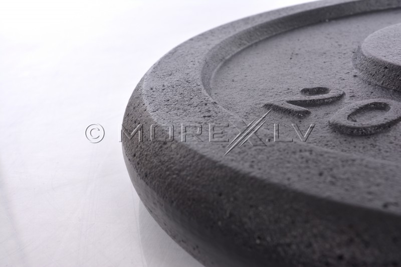 Steel weight disk for barbells and dumbbells (plate) 20kg (31,5mm)
