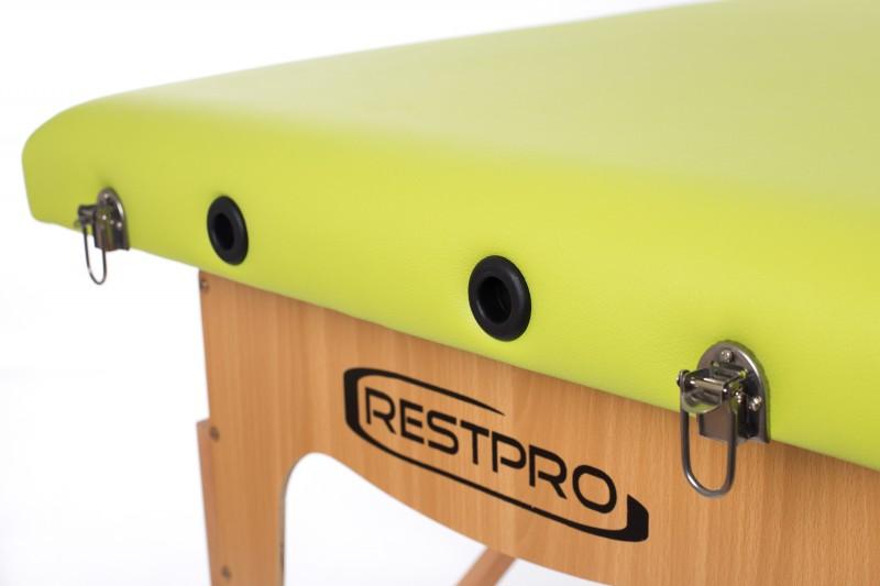 RESTPRO® Classic-2 Olive massaažilaual (diivan)