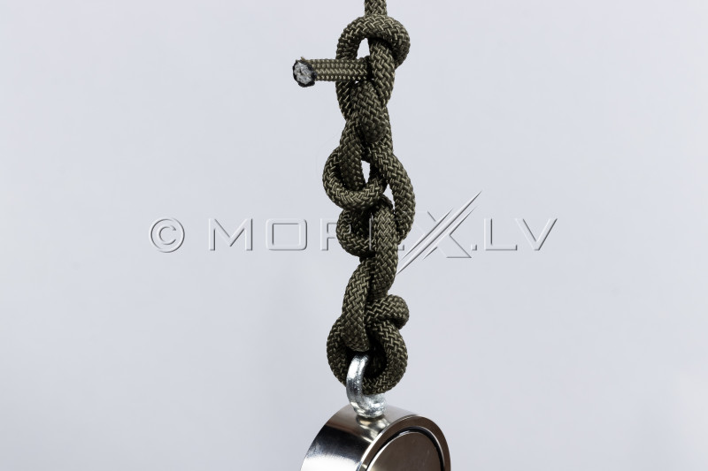 Nöör 8 mm x 20 m otsingumagneti Black Magnet jaoks