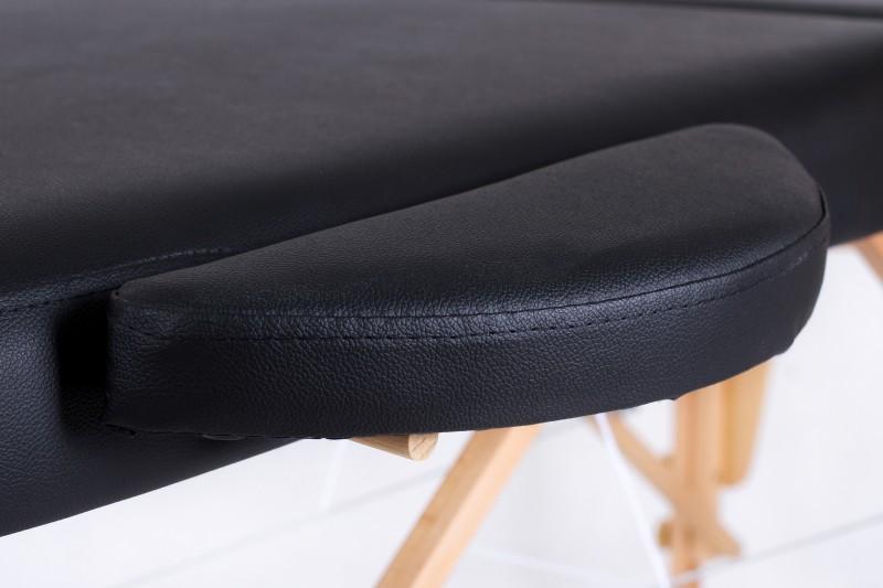 RESTPRO® Classic Oval 2 Black massaažilaual (diivan)