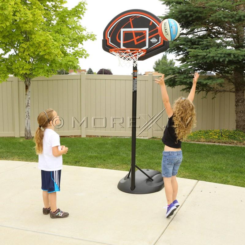 LIFETIME 90022 Laste õuepalli rõngas (1.65 - 2.29 m)