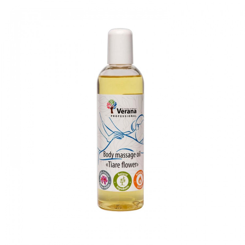 Body massage oil Verana Professional, Tiare flower 250ml