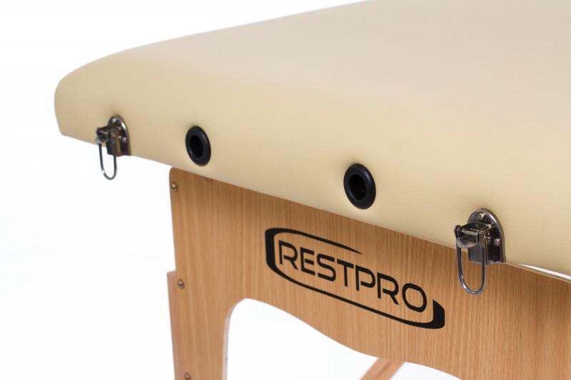 RESTPRO® Classic-2 Beige massaažilaual (diivan)