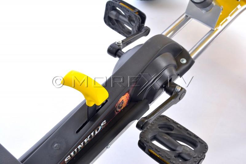 Velokart (Velomobile) Go-Kart F618 Yellow (4-10 years)