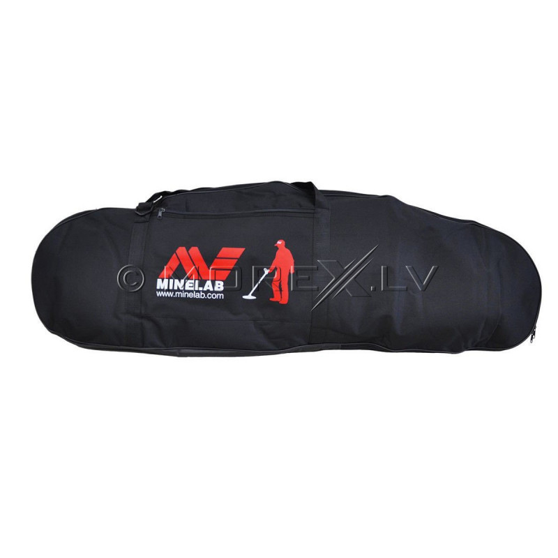 Metal Detector Minelab E-Trac Universal + Minelab PRO-FIND 20 PinPointer + Minelab Pro Deluxe Large Carrying Bag