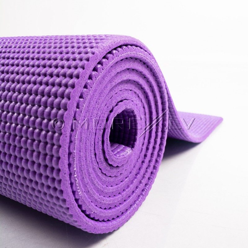 Yoga exercise mat 173х61х0.5 сm purple