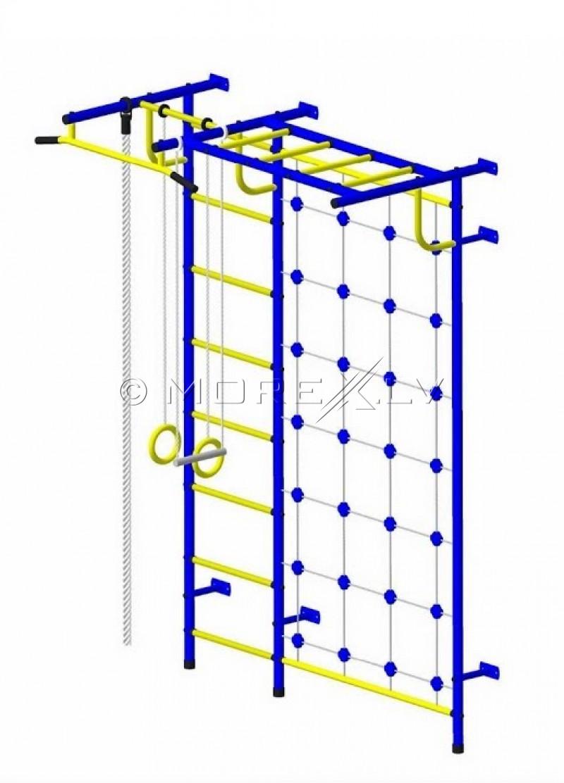 Sports complex Pioner-C4C blue-yellow (swedish wall)