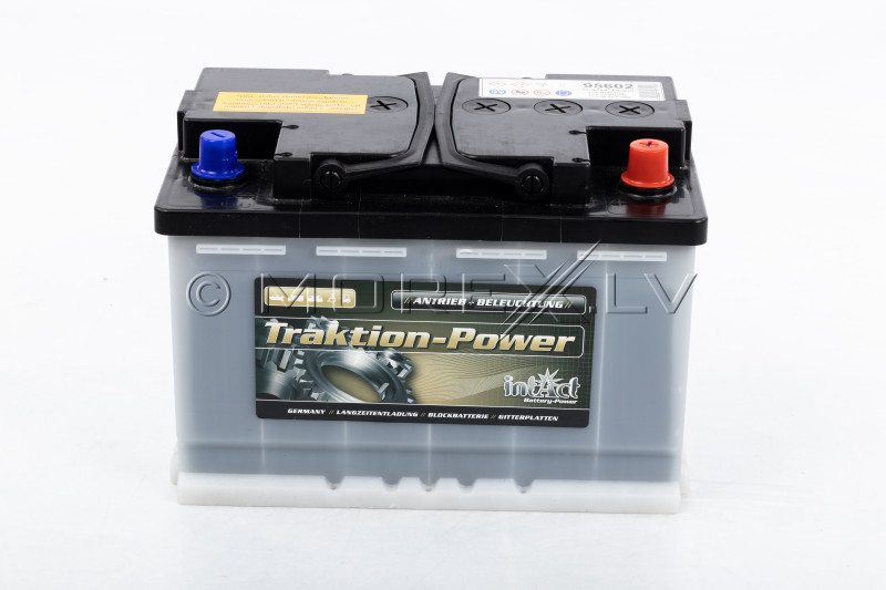 Power boat battery Intact Traktion-Power 75Ah (20h)