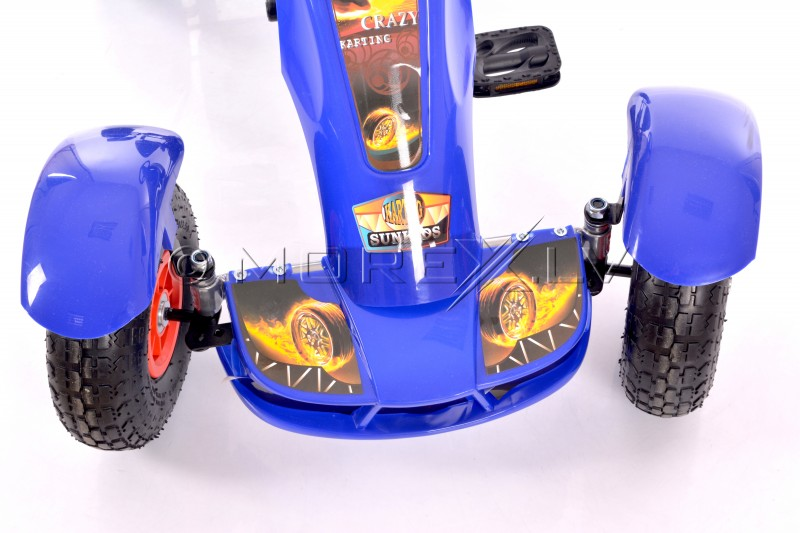 Velokart (Velomobile) Go-Kart F618 Blue (4-10 years)