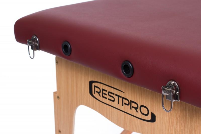 RESTPRO® Classic-2 Wine Red massaažilaual (diivan)