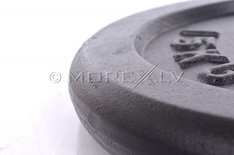 Steel weight disk for barbells and dumbbells (plate) 15kg (31,5mm)