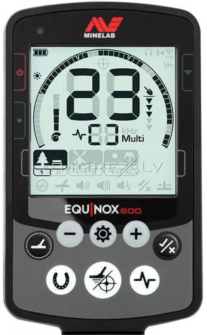 Metal Detector Minelab Equinox 600 + Minelab Equinox Wireless Headphones