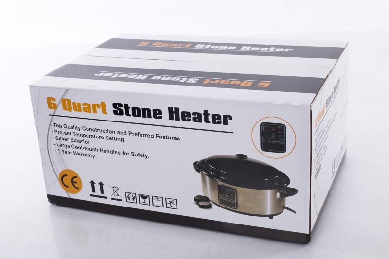 Massage Hot Stone Heater 6 quart (with display)