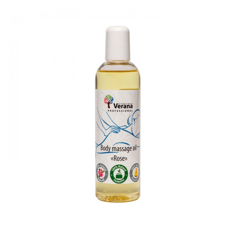 Body massage oil Verana Professional, Rose 250ml
