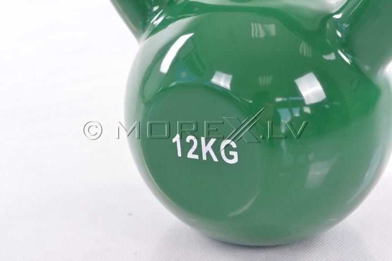 Metal Kettlebell With Vinyl Coating 12 kg