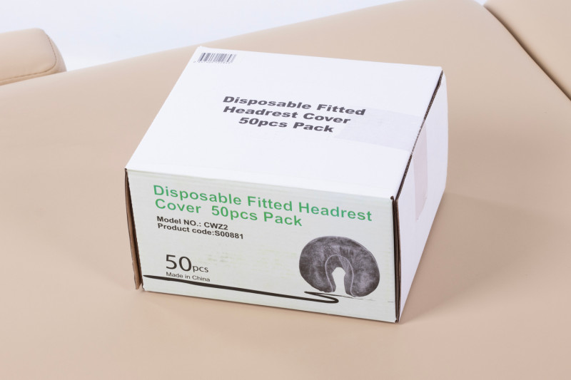Disposable Fitted Head Rest Covers - 500 pack