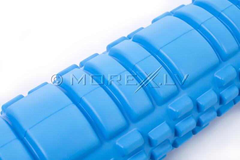 Massage Foam Roller Yoga Roller 14x62cm, sinine