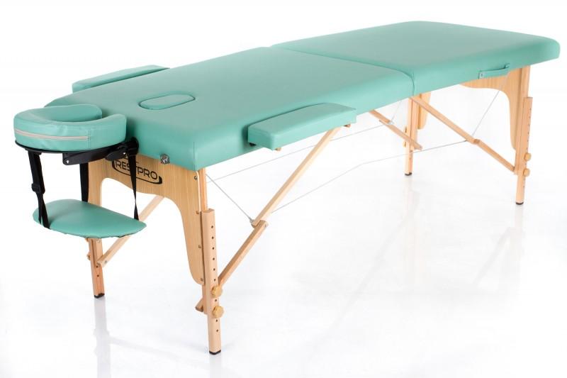 RESTPRO® Classic-2 Blue-green massaažilaual (diivan)