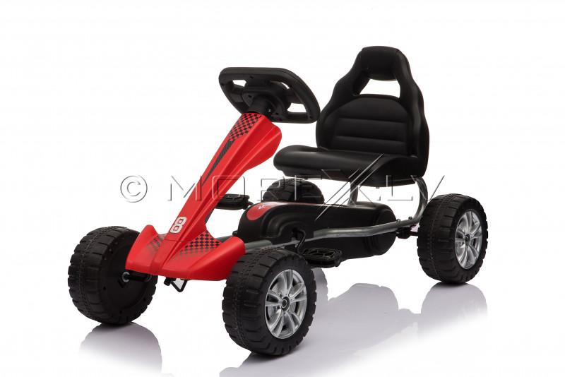 Velokart (Velomobile) Go-Kart 1801 Red (3-6 years)