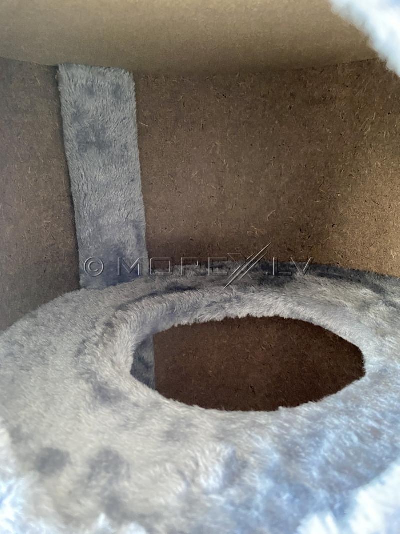 Kassimajake kraapimispuu CAT005P-2, 70 cm, hall