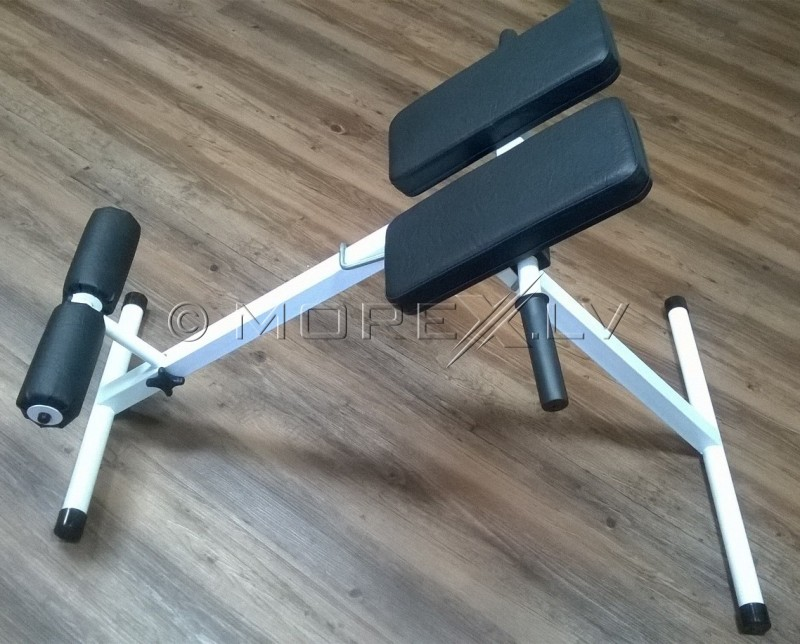 how to use back extension bench