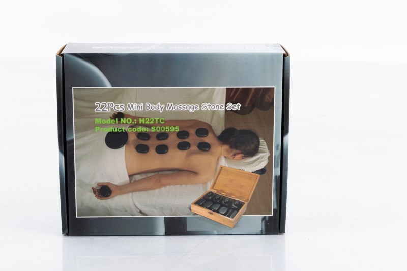 Hot Stone Therapy – Professional Set of 22 Stones.