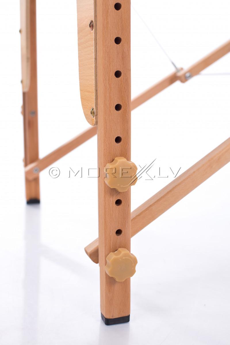 Massaažilaual (diivan) Must 185x60 cm