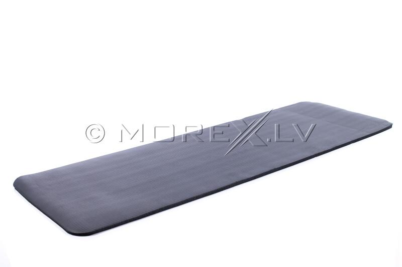 Joogatreening  pilates fitness mat 179х1,5х60 cm, must