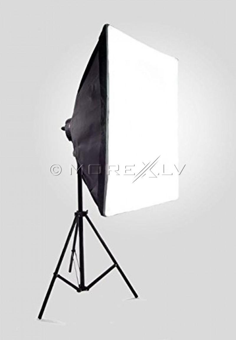 Quadhead 4x85W, Softbokss 50x70cm with Light stand  (foto_02478)