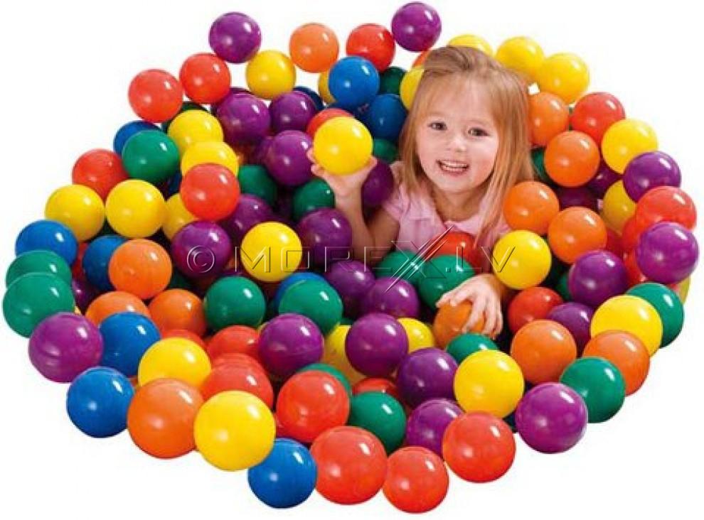 INTEX 49602NP Маленькие мягкие шарики 100 шт.