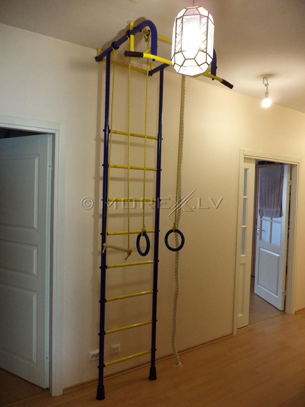 Laste rootsi sein Pioner-1 blue-yellow (swedish wall)