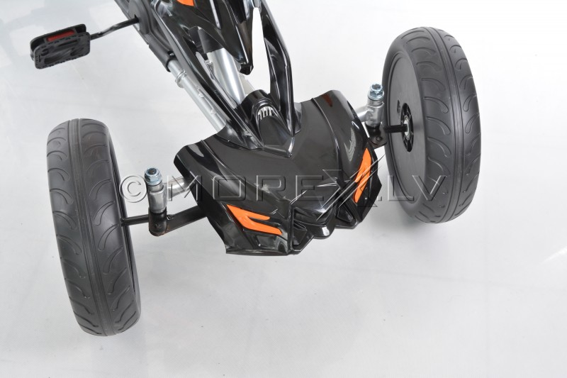 Velokart (Velomobile) Go-Kart 1504 Black (5-12 years)
