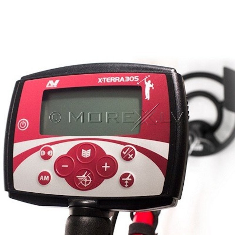"Rent Minelab X-Terra 505 with 10.5"" 7.5kHz DD Coil Metal Detector"