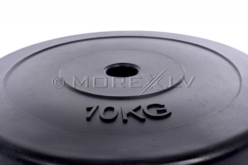Weight plate for barbells and dumbbells (plate) 10kg (31,5mm)