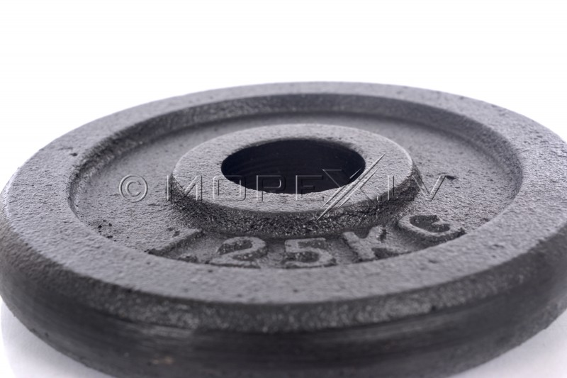 Steel weight disk for barbells and dumbbells (plate) 1,25kg (31,5mm)