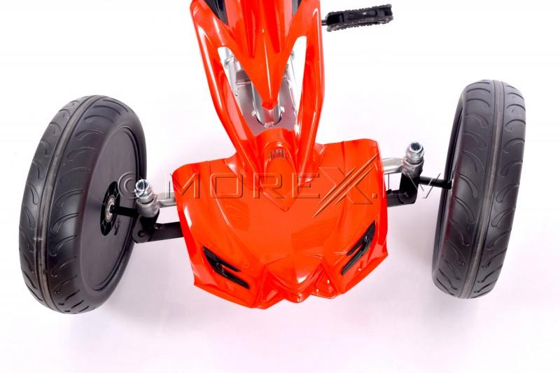 Velokart (Velomobile) Go-Kart 1504 Red (5-12 years)