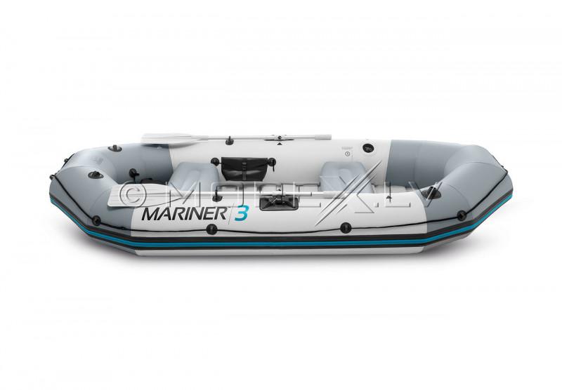 Täispuhutav 3-vooditega Intex Mariner 3 paadi SET (297x127x46cm)