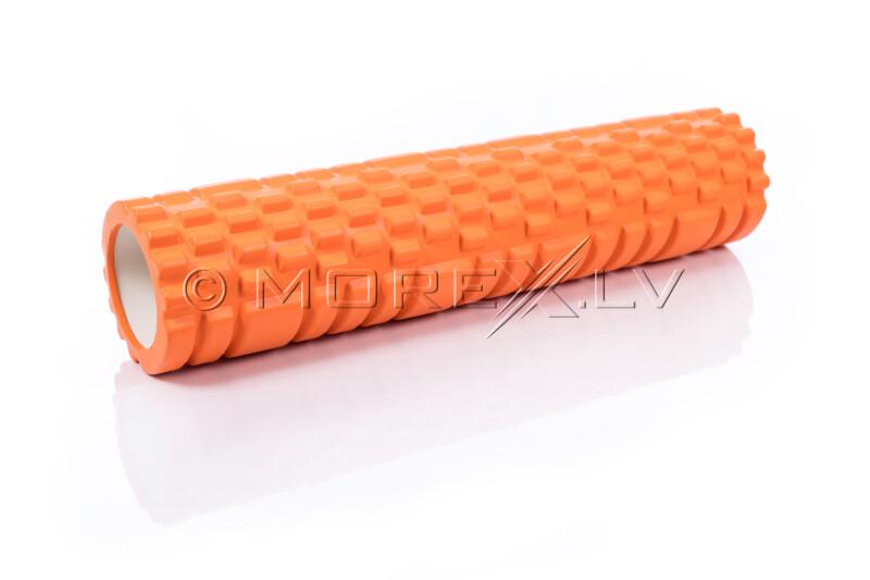 Massage Foam Roller Yoga Roller 14x62cm, oranž