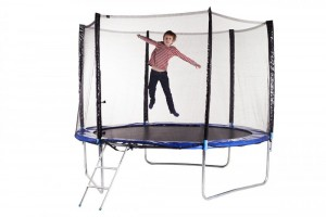 Trampoline 305 cm with safety net and ladder 10ft (3.05 m)