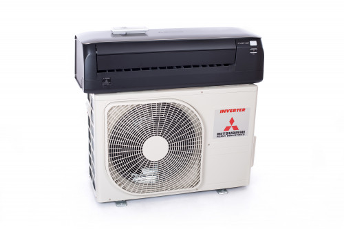 Air conditioner (heat pump) Mitsubishi SRK/SRC25ZS-WT Premium (titanium) Nordic series