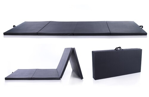 Folding sports mat 122x244cm, must