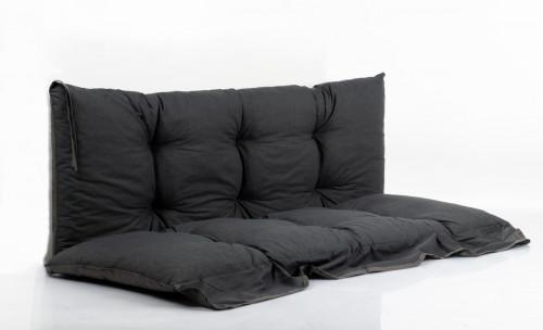 Aiakiige LUNA padjakomplekt, 130x45 cm, hall