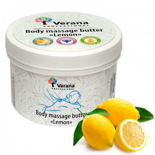 Body massage butter Verana Lemon 450 gr