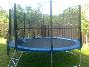 Trampoline 366 cm with safety net and ladder 12ft (3.66 m)