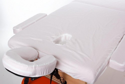 RESTPRO® cotton cover for the massage table (L-size, 192*70cm)