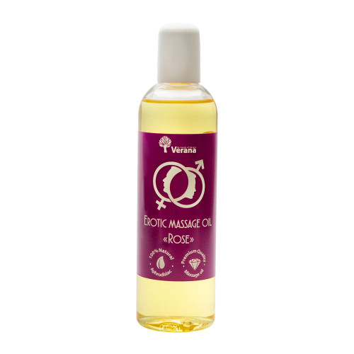 Erotic massage oil Verana, Rose 250 ml